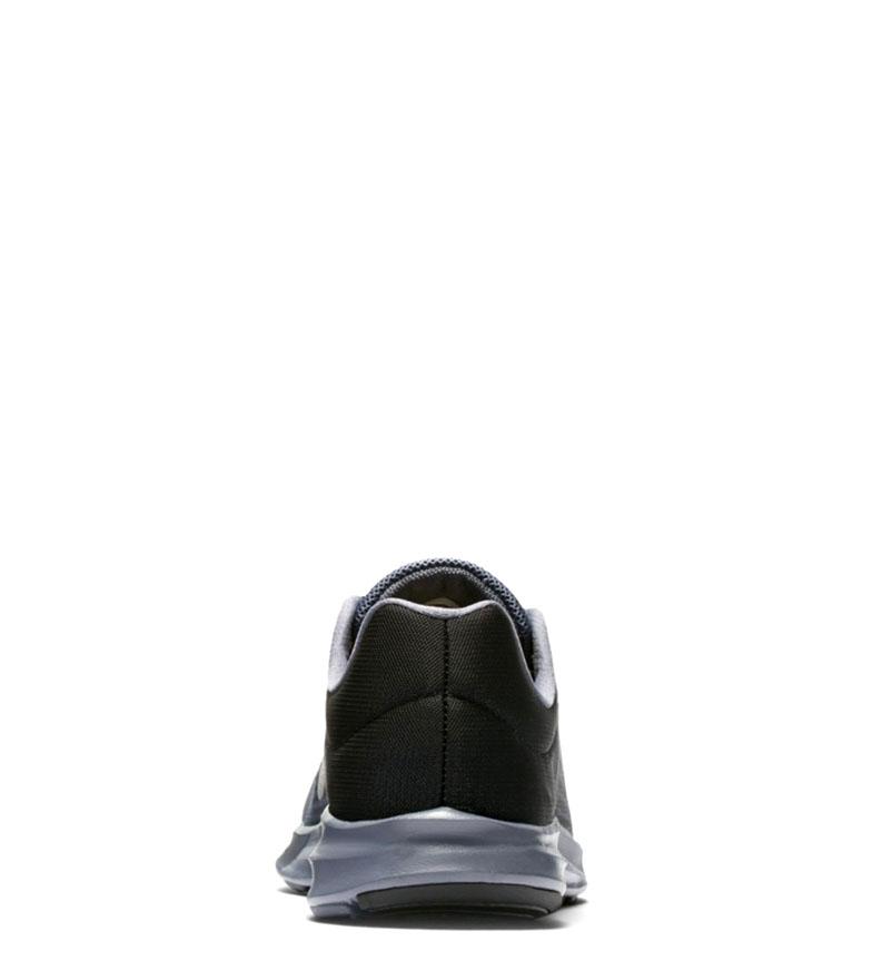 Nike-Zapatillas-running-Downshifter-8-Hombre-chico-Azul-Gris-Negro-Verde-Tela miniatura 6