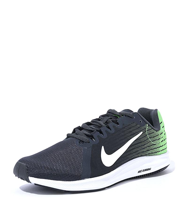 Nike-Zapatillas-running-Downshifter-8-Hombre-chico-Azul-Gris-Negro-Verde-Tela miniatura 11