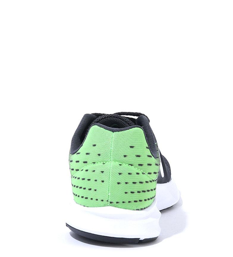 Nike-Zapatillas-running-Downshifter-8-Hombre-chico-Azul-Gris-Negro-Verde-Tela miniatura 12