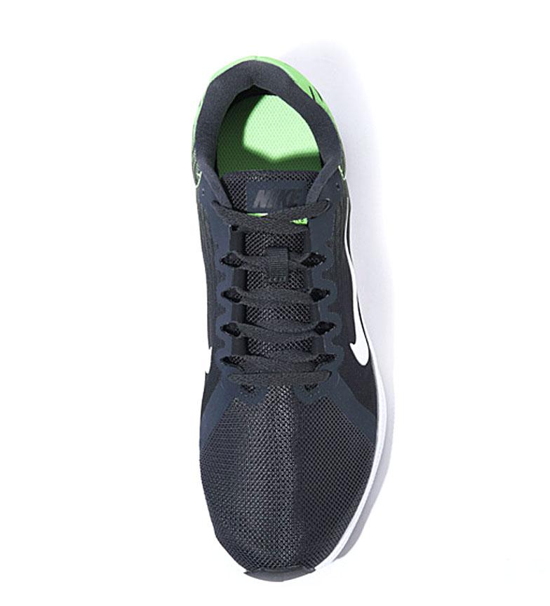 Nike-Zapatillas-running-Downshifter-8-Hombre-chico-Azul-Gris-Negro-Verde-Tela miniatura 13
