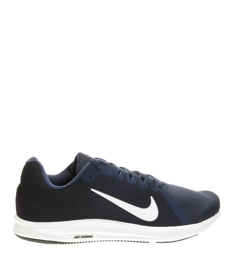 Nike-Zapatillas-running-Downshifter-8-Hombre-chico-Azul-Gris-Negro-Verde-Tela miniatura 16