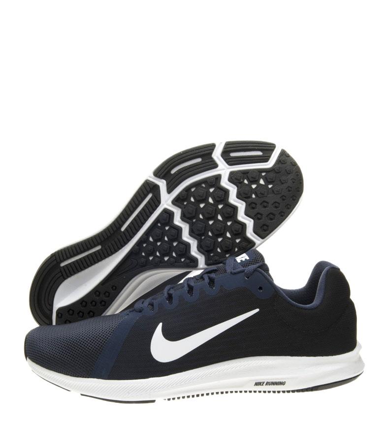 Nike-Zapatillas-running-Downshifter-8-Hombre-chico-Azul-Gris-Negro-Verde-Tela miniatura 19