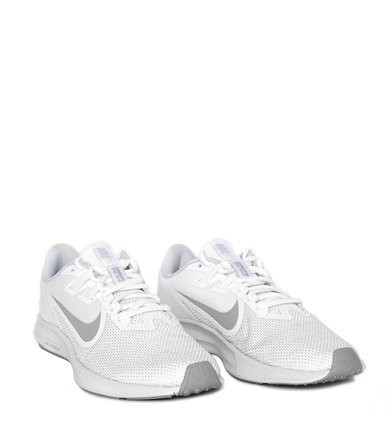 Nike-Zapatillas-running-Downshifter-9-negro-blanco-Mujer-chica-Tela miniatura 7
