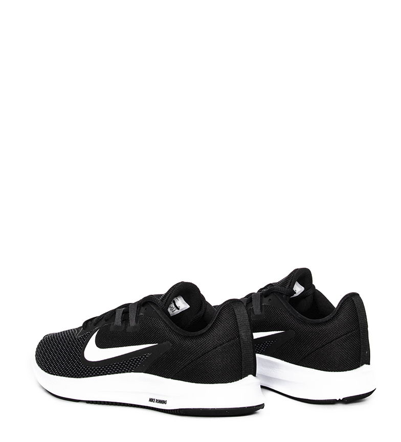 Nike-Zapatillas-running-Downshifter-9-negro-blanco-Mujer-chica-Tela miniatura 4