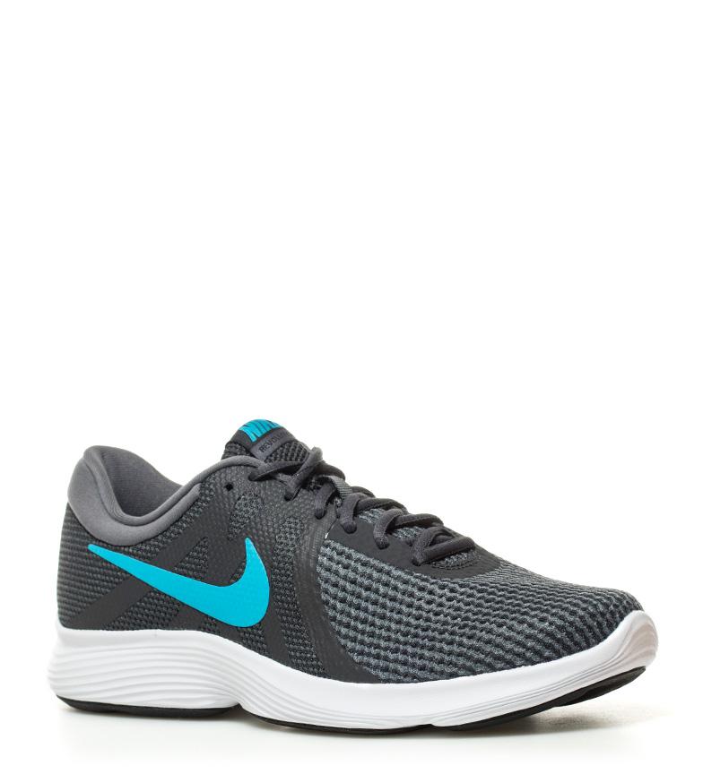 Nike-Zapatillas-running-Revolution-4-blanco-Hombre-chico-Rojo-Negro-Azul-Gris miniatura 31