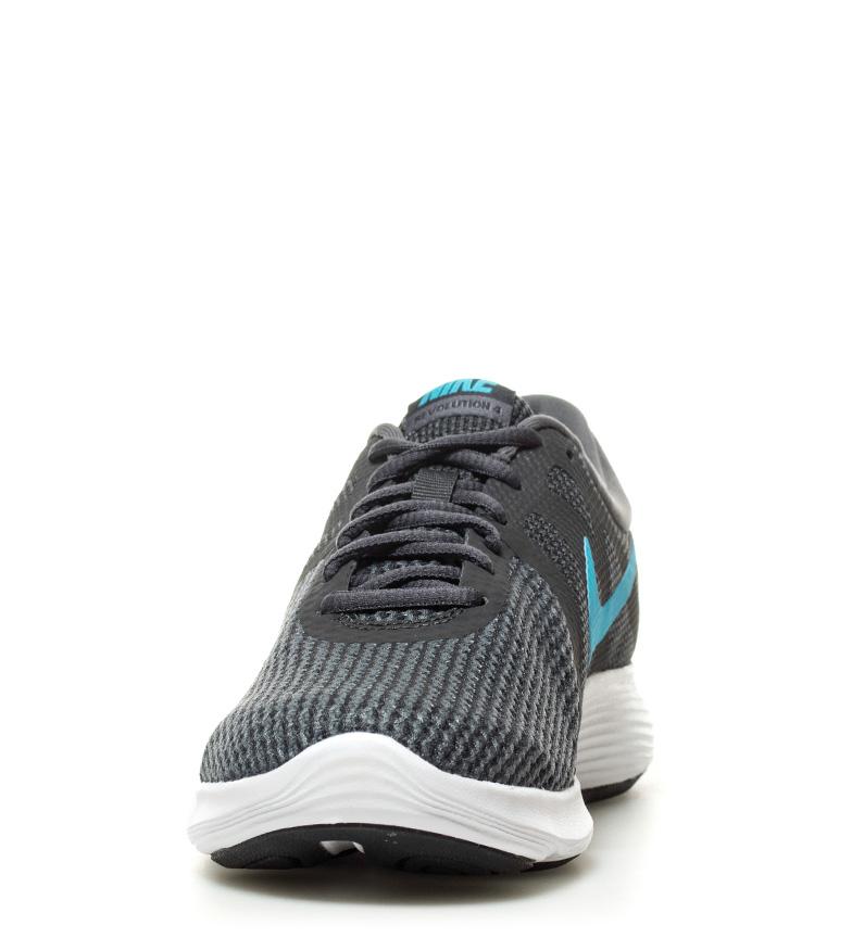 Nike-Zapatillas-running-Revolution-4-blanco-Hombre-chico-Rojo-Negro-Azul-Gris miniatura 32