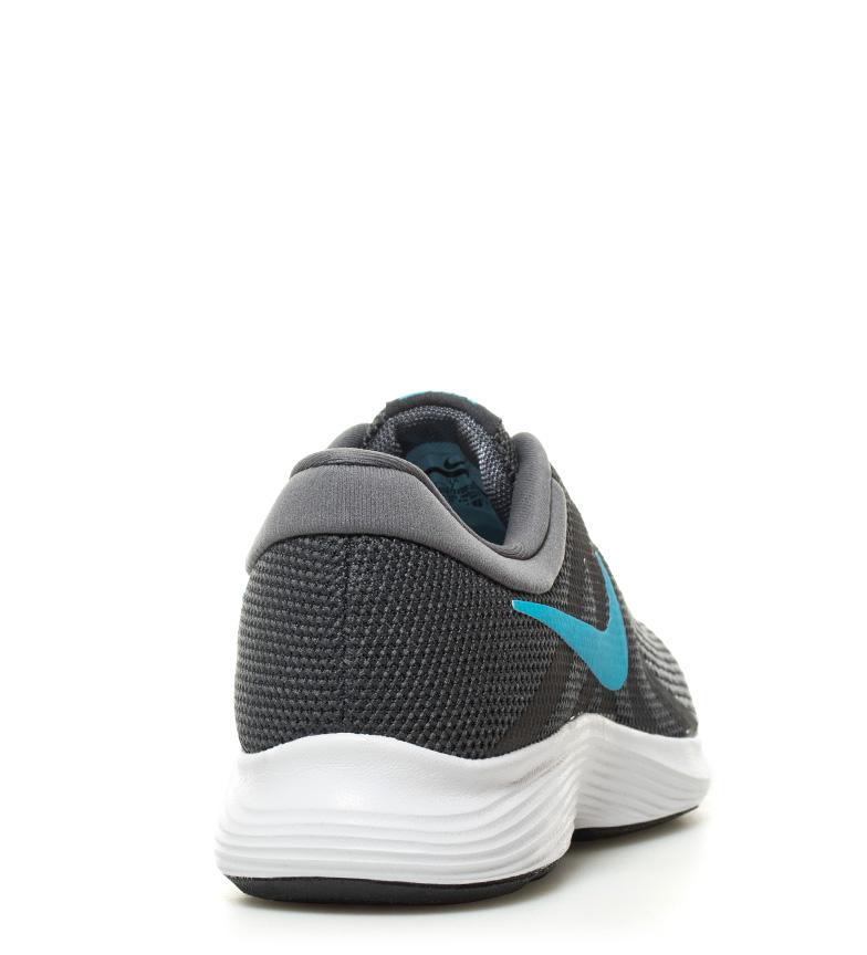 Nike-Zapatillas-running-Revolution-4-blanco-Hombre-chico-Rojo-Negro-Azul-Gris miniatura 33