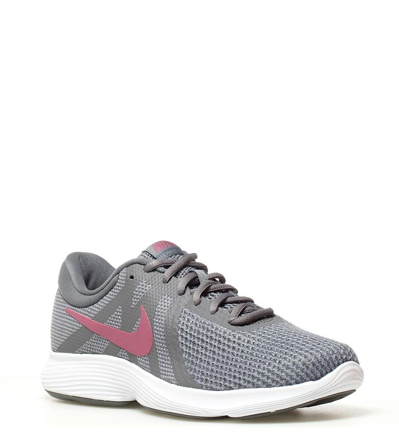 Nike-Zapatillas-running-Revolution-4-blanco-Hombre-chico-Rojo-Negro-Azul-Gris miniatura 73