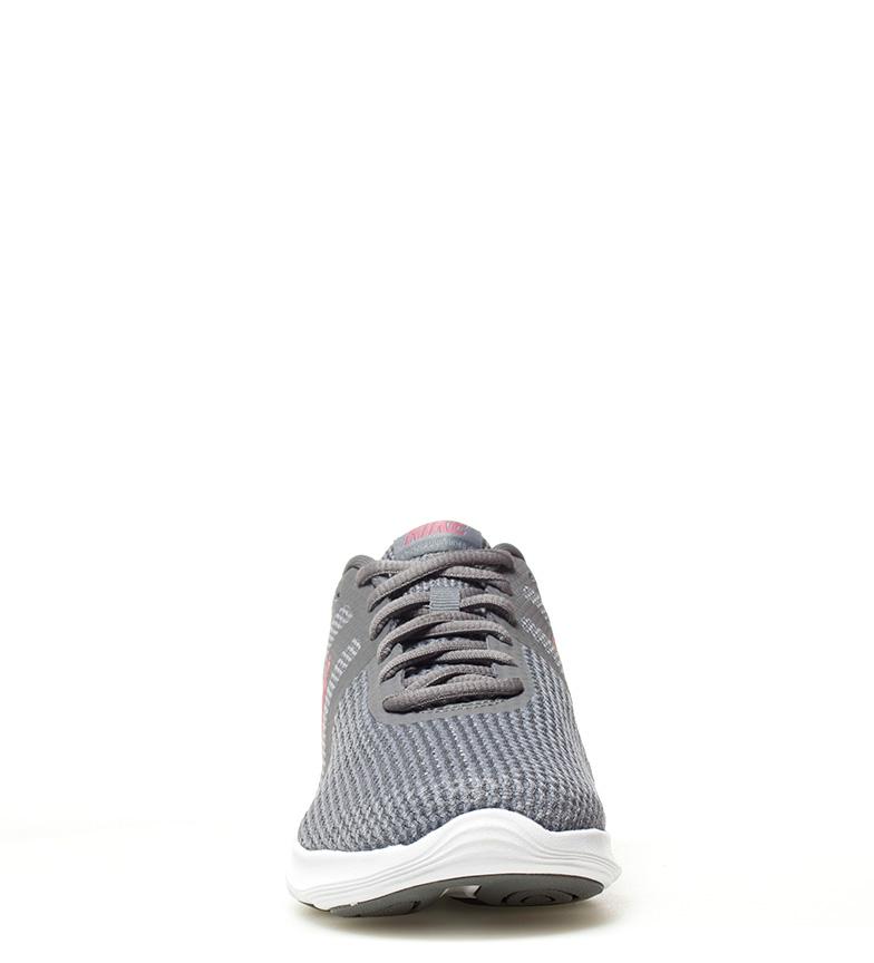 Nike-Zapatillas-running-Revolution-4-blanco-Hombre-chico-Rojo-Negro-Azul-Gris miniatura 74