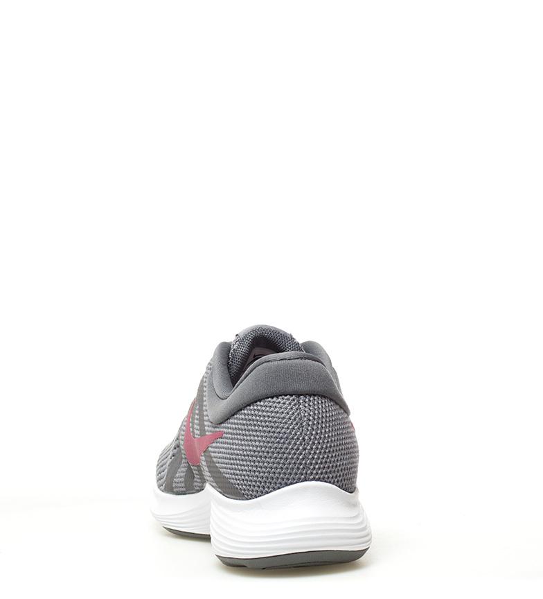 Nike-Zapatillas-running-Revolution-4-blanco-Hombre-chico-Rojo-Negro-Azul-Gris miniatura 76