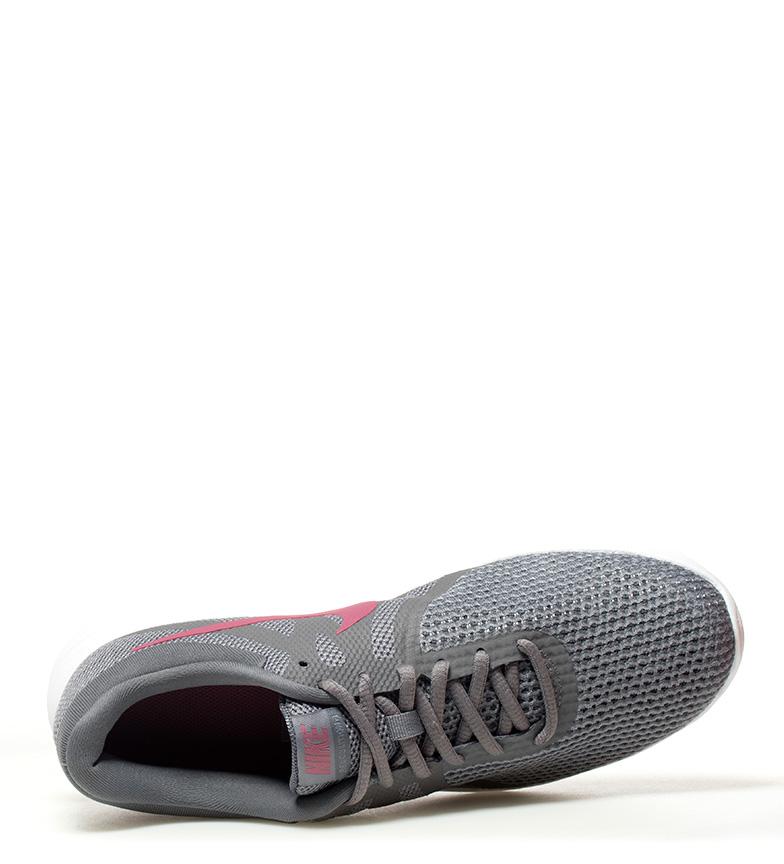 Nike-Zapatillas-running-Revolution-4-blanco-Hombre-chico-Rojo-Negro-Azul-Gris miniatura 78