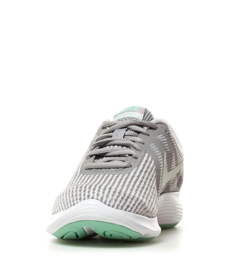 Detalles de Nike Zapatillas running Revolution 4 Mujerchica Tela Sintético Plano