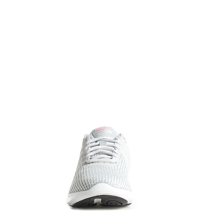 Donna Basso Nike Nero Scarpe Sintetico Tessuto Revolution 4 Antracite qSUUXw8