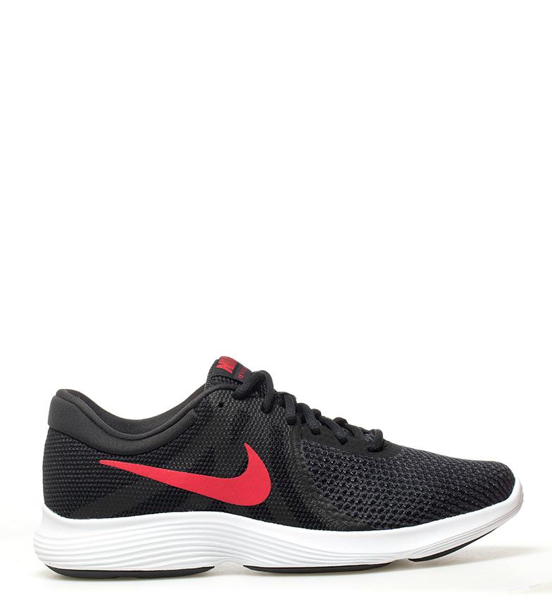 Nike-Sneakers-running-Revolution-4-Homme-Blanc-Noir-Bleu-Gris-Rouge-Tissu miniature 43