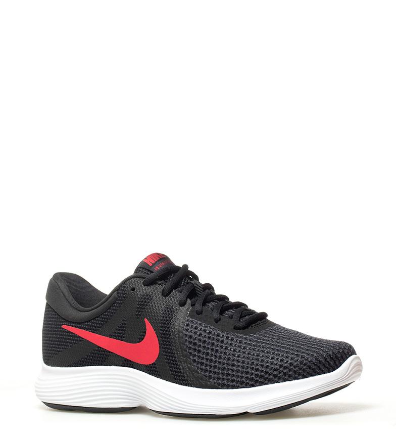 Nike-Zapatillas-running-Revolution-4-Hombre-chico-Blanco-Negro-Azul-Gris-Rojo miniatura 44