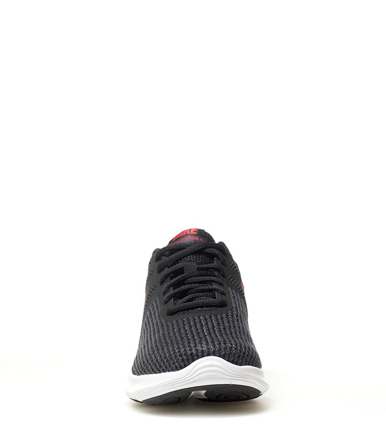 Nike-Sneakers-running-Revolution-4-Homme-Blanc-Noir-Bleu-Gris-Rouge-Tissu miniature 45