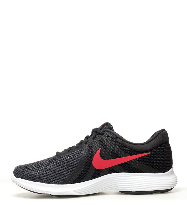Nike-Sneakers-running-Revolution-4-Homme-Blanc-Noir-Bleu-Gris-Rouge-Tissu miniature 46