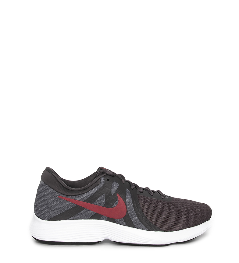 Nike-Sneakers-running-Revolution-4-Homme-Blanc-Noir-Bleu-Gris-Rouge-Tissu miniature 79