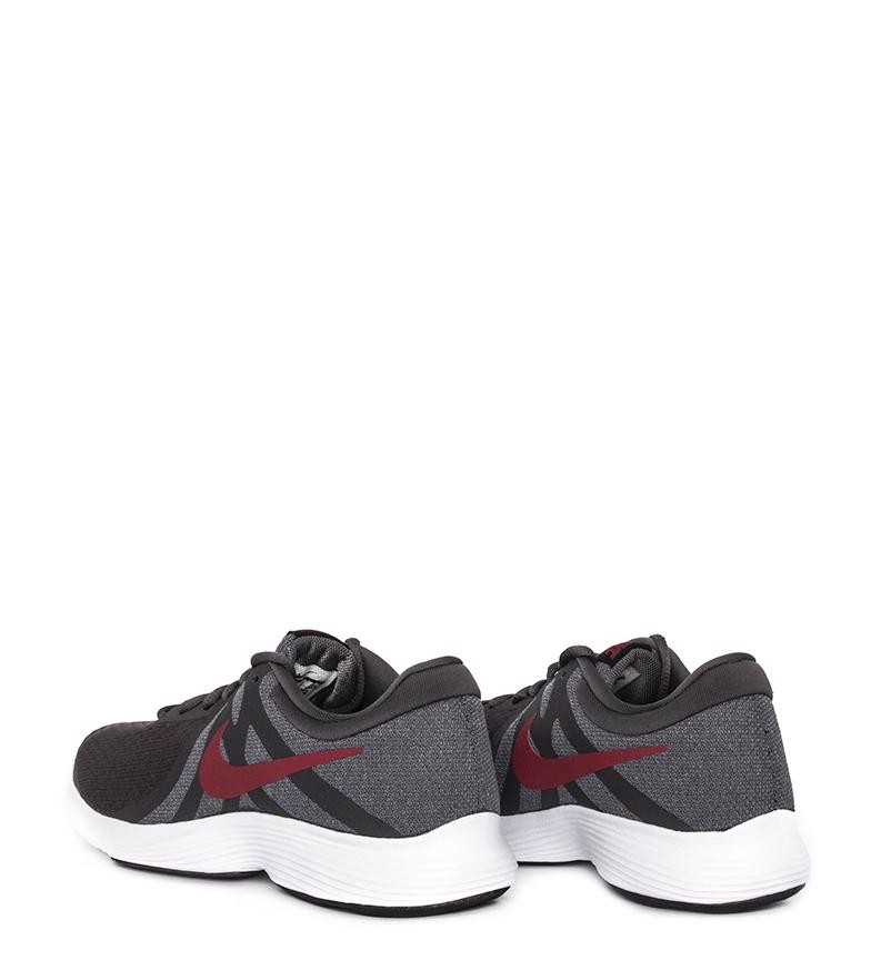 Nike-Zapatillas-running-Revolution-4-Hombre-chico-Blanco-Negro-Azul-Gris-Rojo miniatura 81
