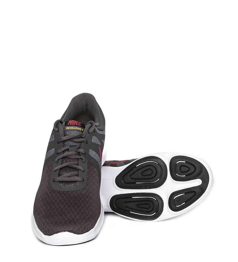 Nike-Zapatillas-running-Revolution-4-Hombre-chico-Blanco-Negro-Azul-Gris-Rojo miniatura 82
