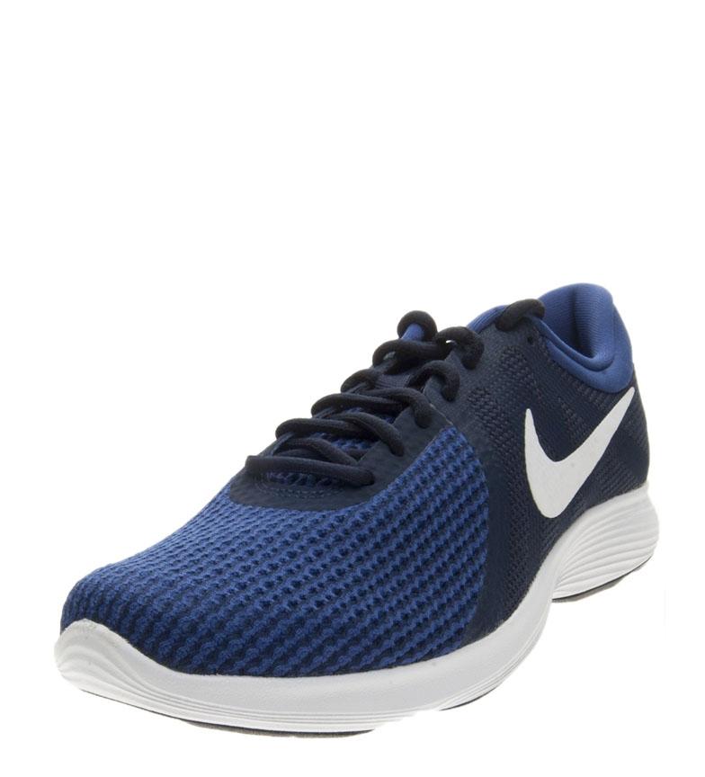 Nike-Zapatillas-running-Revolution-4-Hombre-chico-Blanco-Negro-Azul-Gris-Rojo miniatura 65