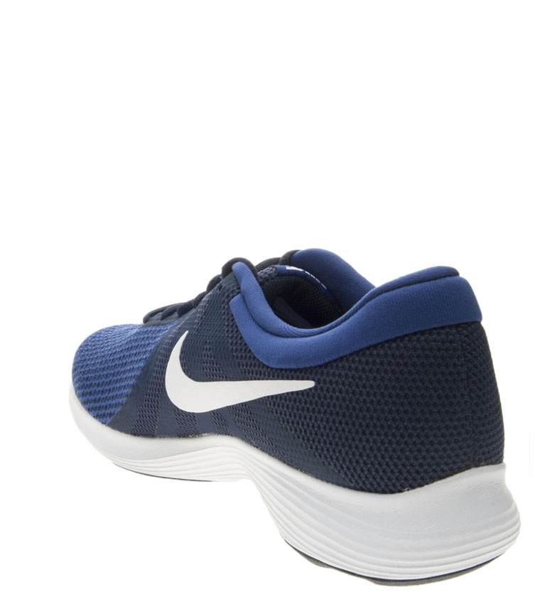 Nike-Zapatillas-running-Revolution-4-Hombre-chico-Blanco-Negro-Azul-Gris-Rojo miniatura 66