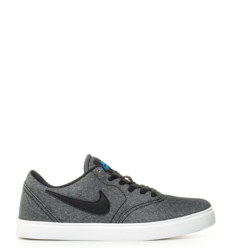 Comprar Nike SB Verificar Gs Cinza Sapatos de Salto Alto
