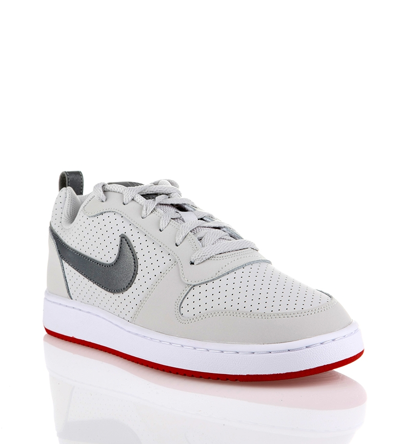 sports shoes 9b3a7 d6314 Nike - Zapatillas Court Borough Low gris, plata Hombre chico Plano Cordones  Casual Sintético. Nike