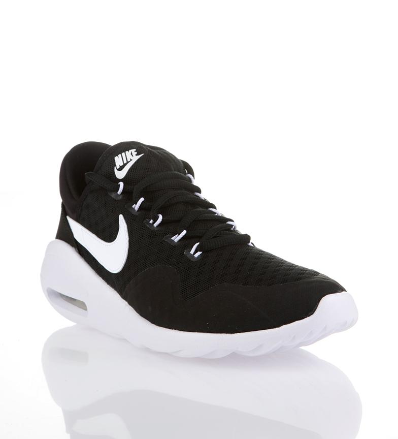 54fca2fb1790 Nike - Scarpe da running Air Max Sasha nere, bianche Donna Nero Tessuto  Sintetico Basso Stringhe Sportivo. Nike