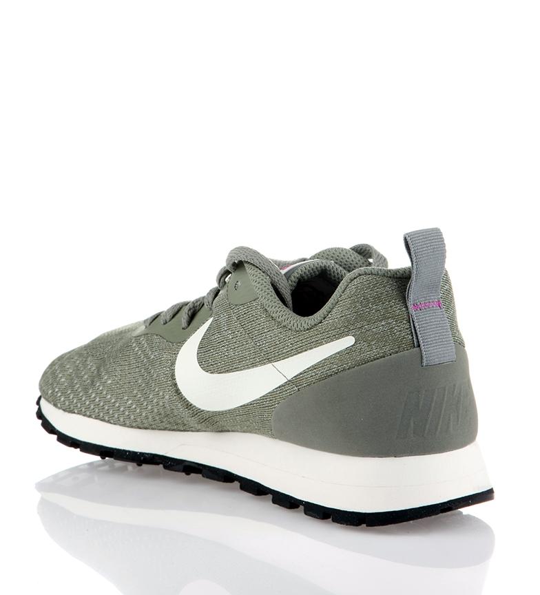 top quality a few days away classic fit Noir Vert Nike Tissu anthracite Détails Plat Femme Chaussures MD ...