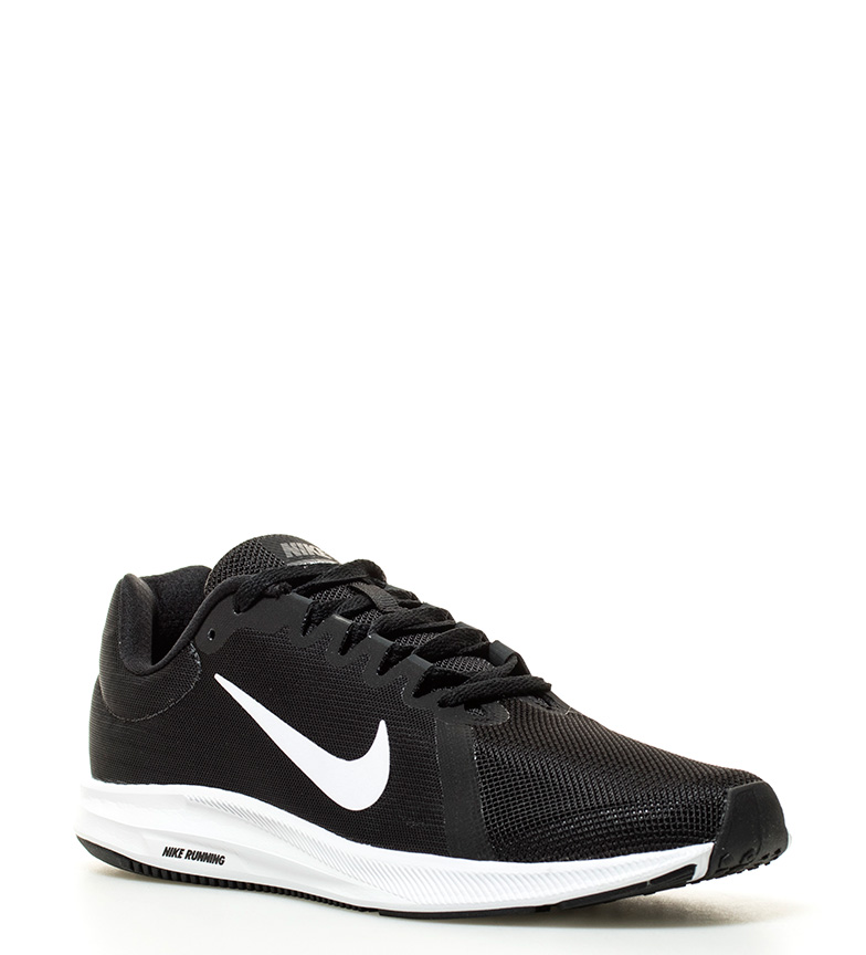 Nike - Scarpe da corsa Downshifter 8 Uomo Nero Grigio Arancione Blu ... b10842dfaaf