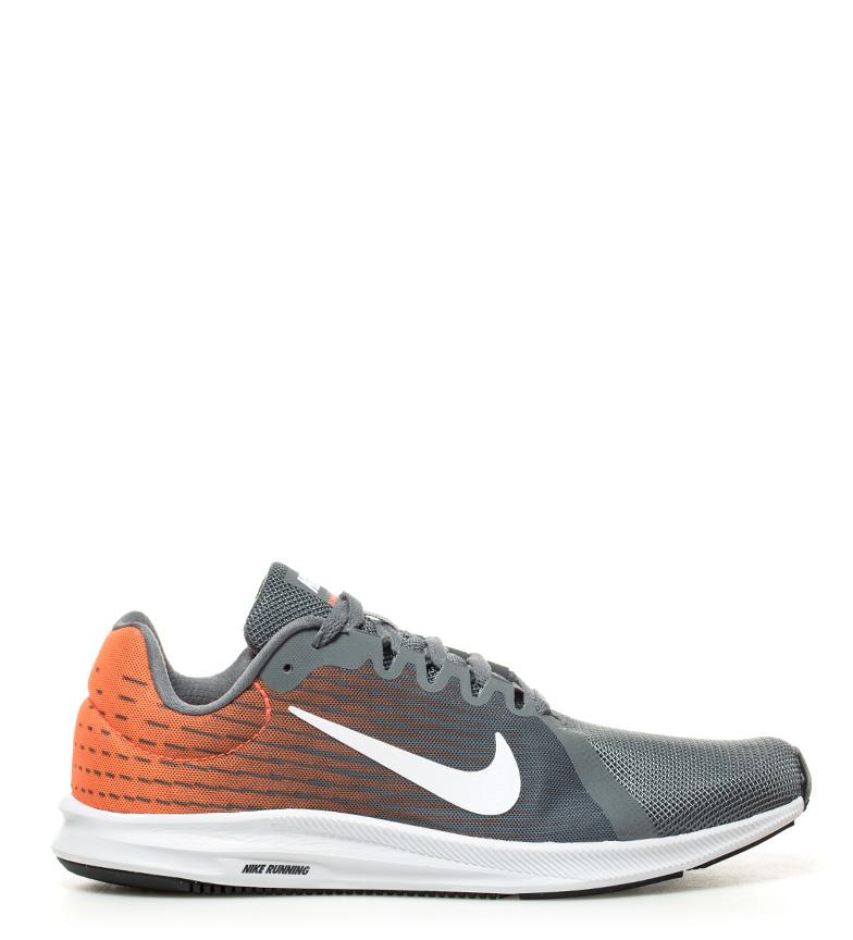 Nike 8 scarpe downshifter corsa grigio arancione Uomo