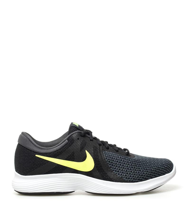 Nike-Zapatillas-running-Revolution-4-Hombre-chico-Blanco-Negro-Azul-Gris-Rojo miniatura 51