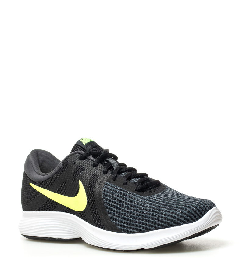 Nike-Zapatillas-running-Revolution-4-Hombre-chico-Blanco-Negro-Azul-Gris-Rojo miniatura 52