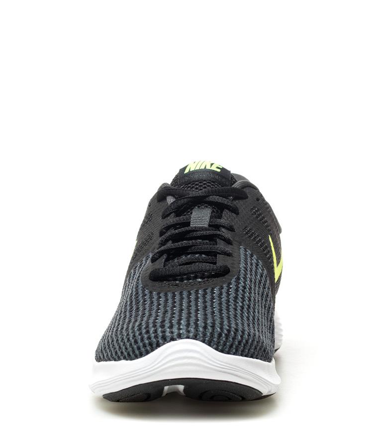 Nike-Zapatillas-running-Revolution-4-Hombre-chico-Blanco-Negro-Azul-Gris-Rojo miniatura 53
