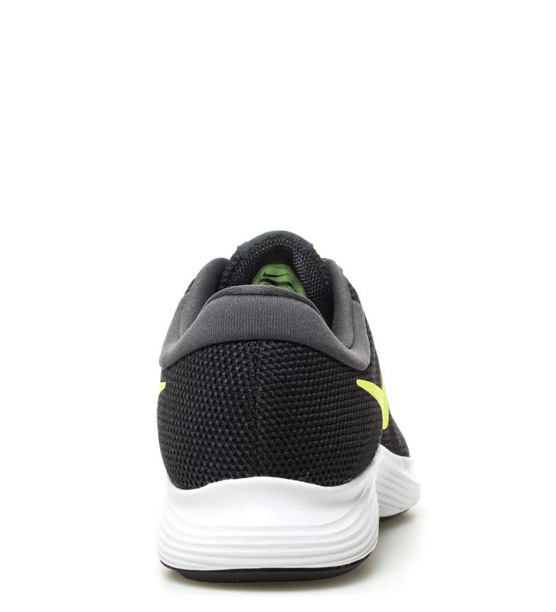 Nike-Sneakers-running-Revolution-4-Homme-Blanc-Noir-Bleu-Gris-Rouge-Tissu miniature 54