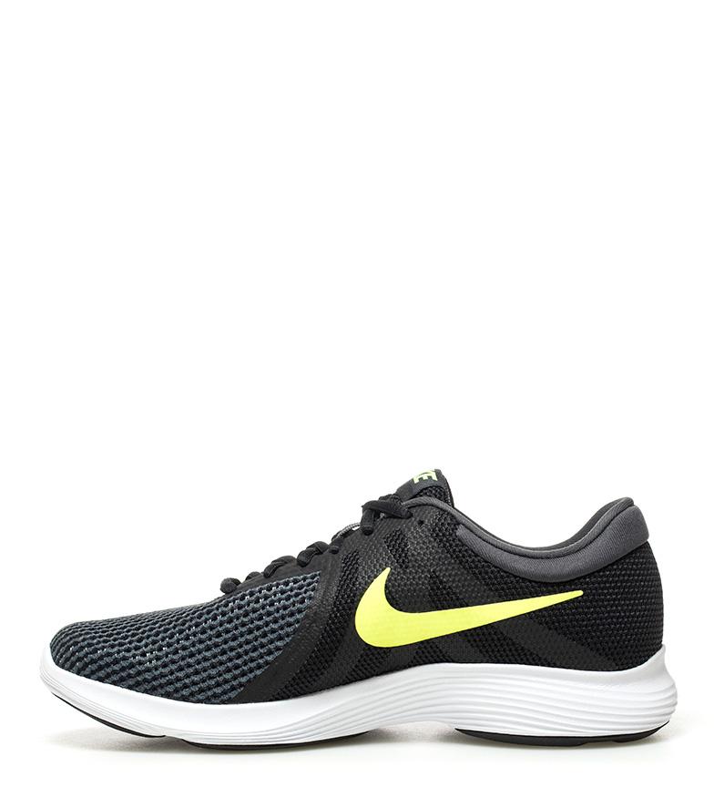 Nike-Sneakers-running-Revolution-4-Homme-Blanc-Noir-Bleu-Gris-Rouge-Tissu miniature 55