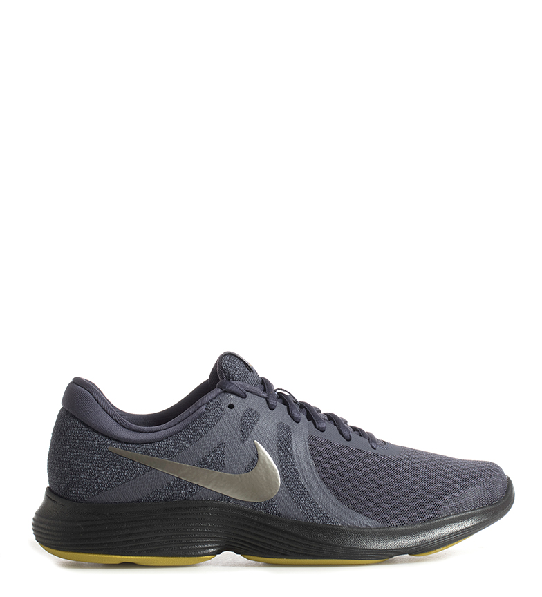 Nike-Zapatillas-running-Revolution-4-Hombre-chico-Blanco-Negro-Azul-Gris-Rojo miniatura 11