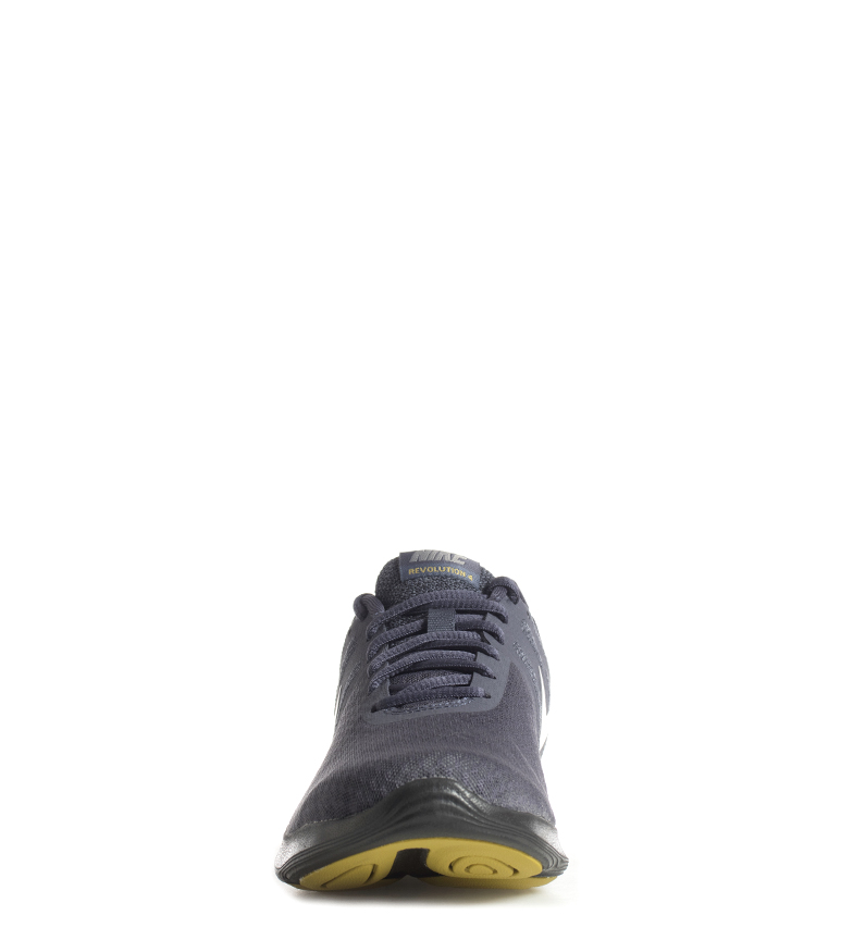 Nike-Zapatillas-running-Revolution-4-Hombre-chico-Blanco-Negro-Azul-Gris-Rojo miniatura 13