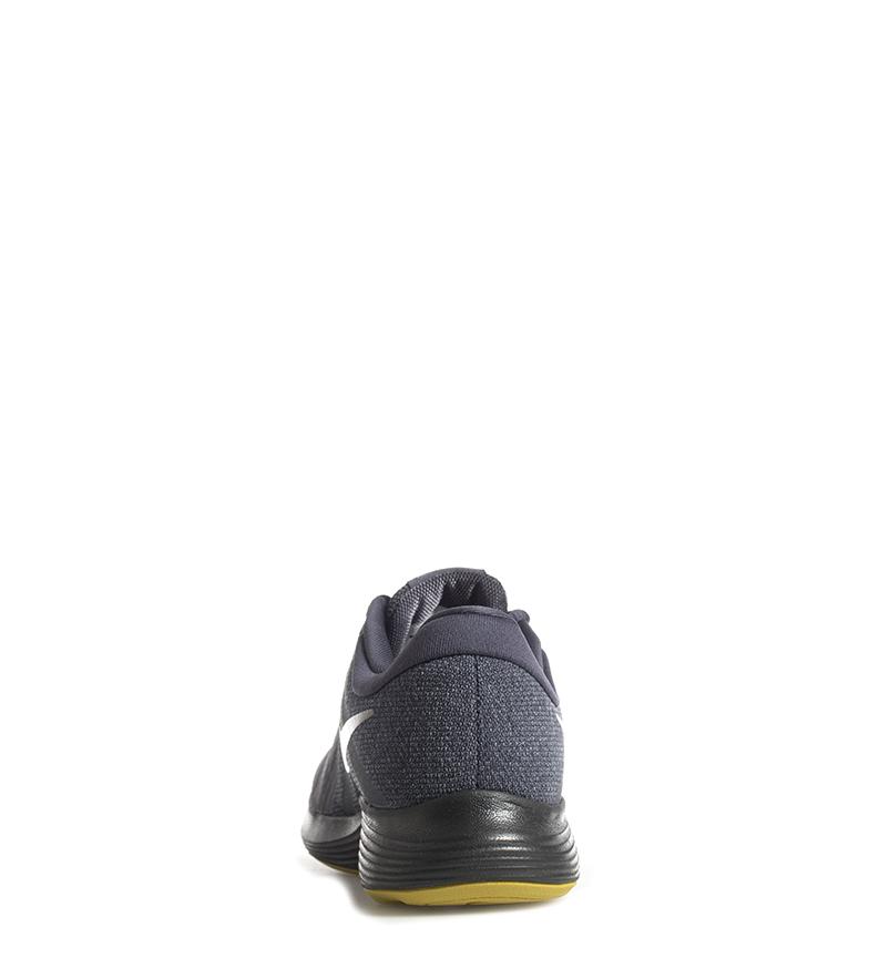 Nike-Zapatillas-running-Revolution-4-Hombre-chico-Blanco-Negro-Azul-Gris-Rojo miniatura 14
