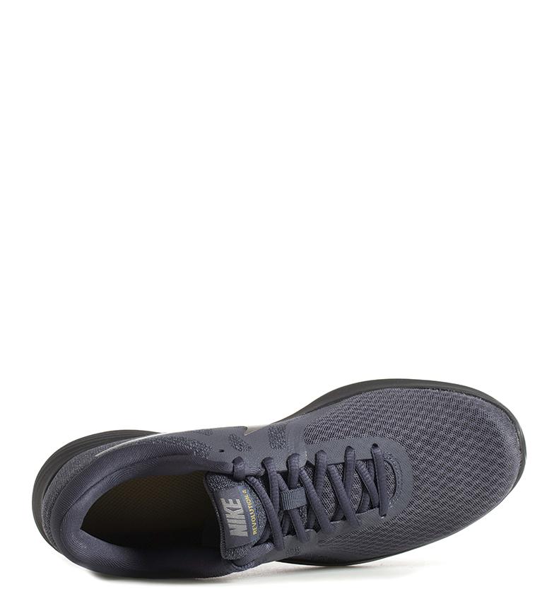 Nike-Zapatillas-running-Revolution-4-Hombre-chico-Blanco-Negro-Azul-Gris-Rojo miniatura 16