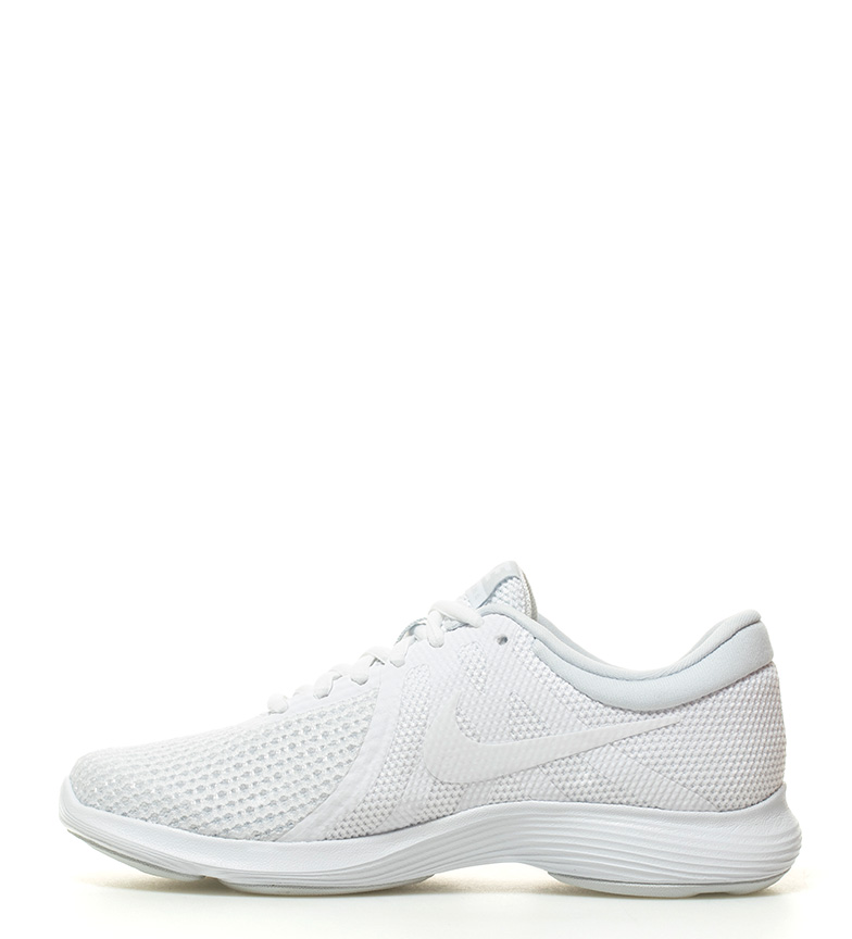 Nike-Sneakers-running-Revolution-4-Homme-Blanc-Noir-Bleu-Gris-Rouge-Tissu miniature 23