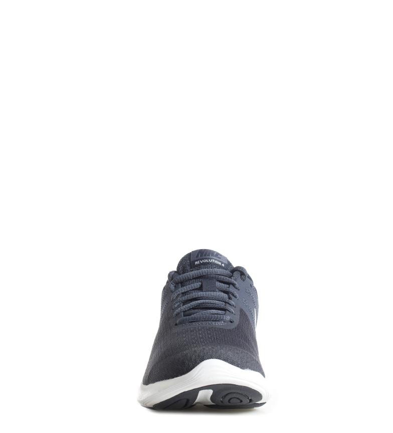 Nike-Sneakers-running-Revolution-4-Homme-Blanc-Noir-Bleu-Gris-Rouge-Tissu miniature 5