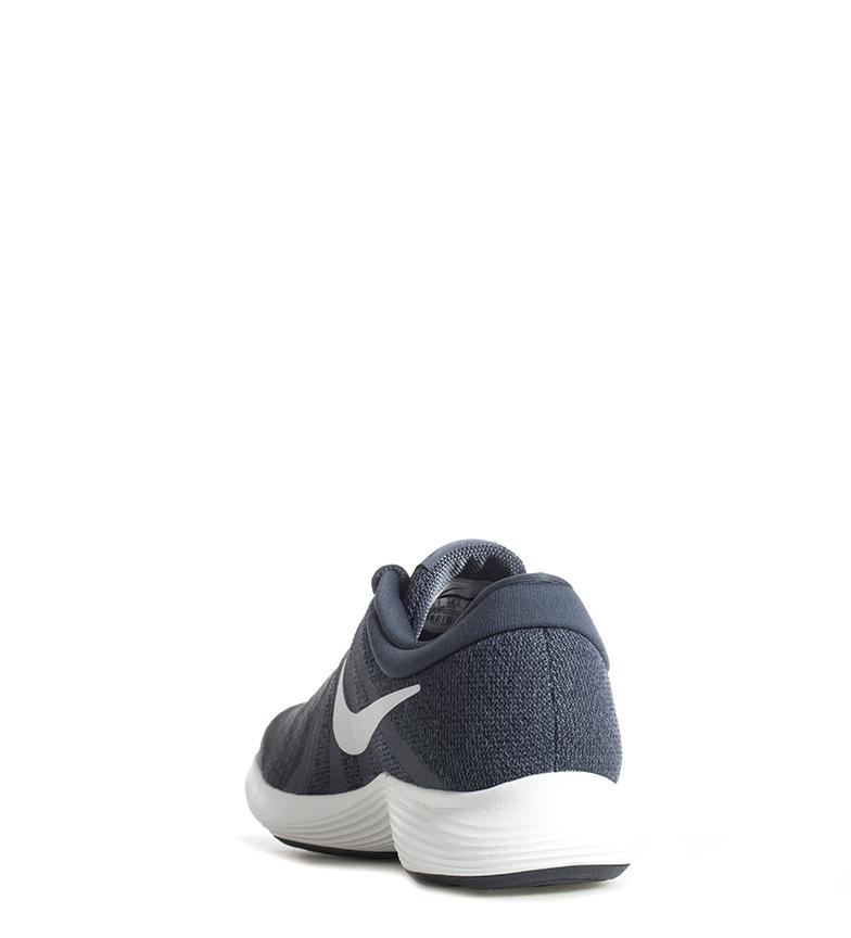 Nike-Zapatillas-running-Revolution-4-Hombre-chico-Blanco-Negro-Azul-Gris-Rojo miniatura 6