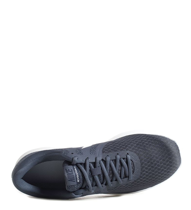 Nike-Zapatillas-running-Revolution-4-Hombre-chico-Blanco-Negro-Azul-Gris-Rojo miniatura 8