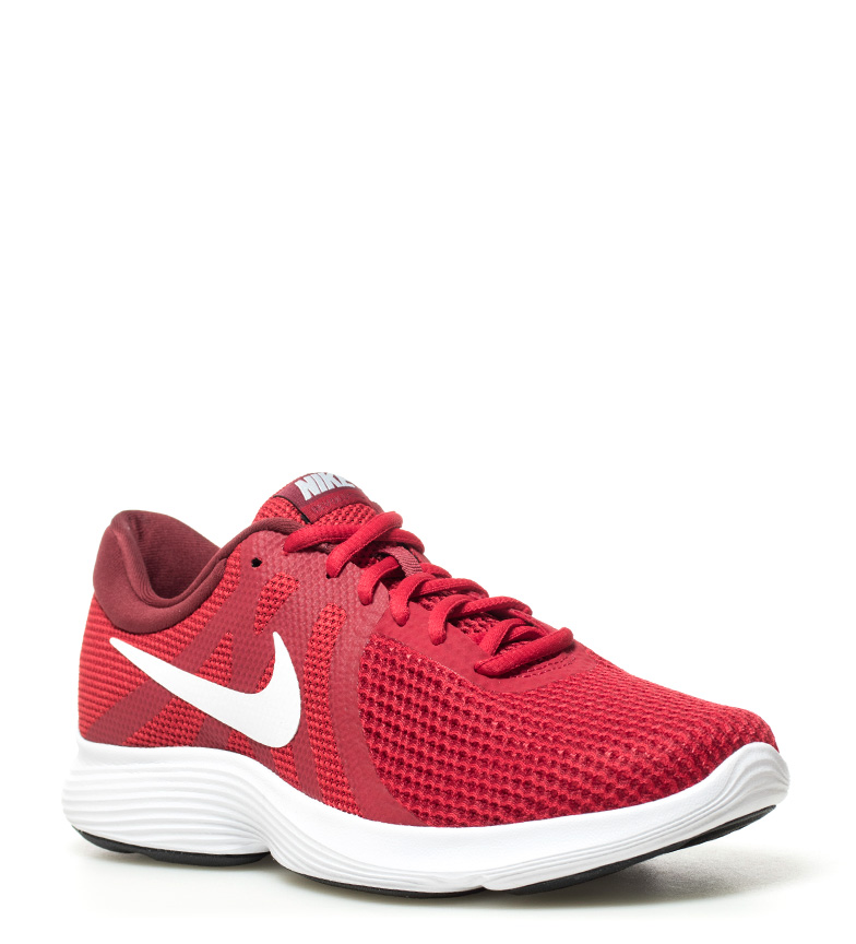 Nike-Zapatillas-running-Revolution-4-blanco-Hombre-chico-Rojo-Negro-Azul-Gris miniatura 52