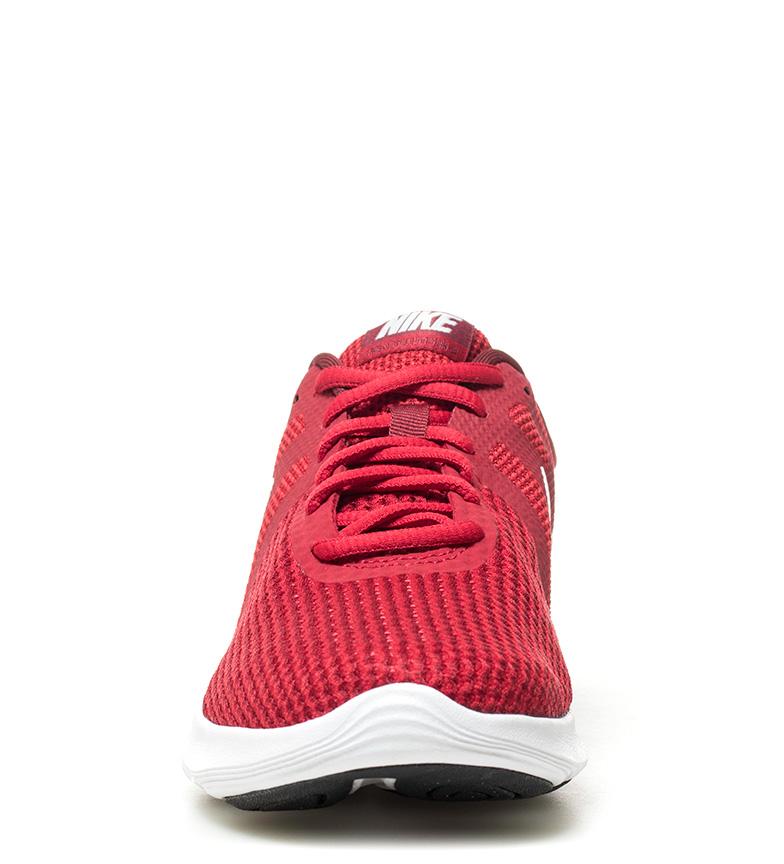 Nike-Zapatillas-running-Revolution-4-blanco-Hombre-chico-Rojo-Negro-Azul-Gris miniatura 53