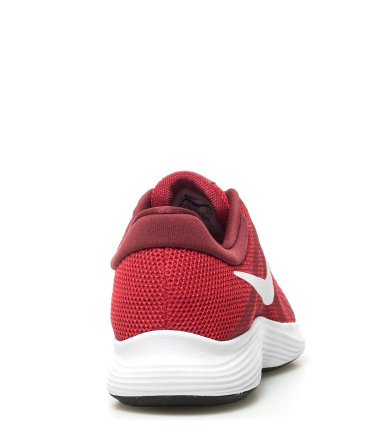 Nike-Zapatillas-running-Revolution-4-blanco-Hombre-chico-Rojo-Negro-Azul-Gris miniatura 54