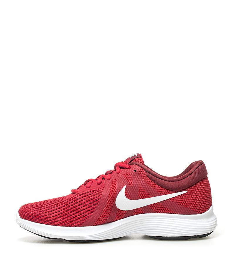 Nike-Zapatillas-running-Revolution-4-blanco-Hombre-chico-Rojo-Negro-Azul-Gris miniatura 55