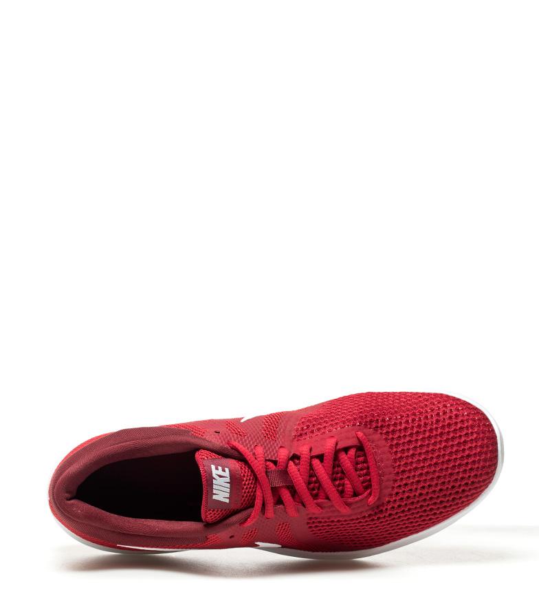 Nike-Zapatillas-running-Revolution-4-blanco-Hombre-chico-Rojo-Negro-Azul-Gris miniatura 56
